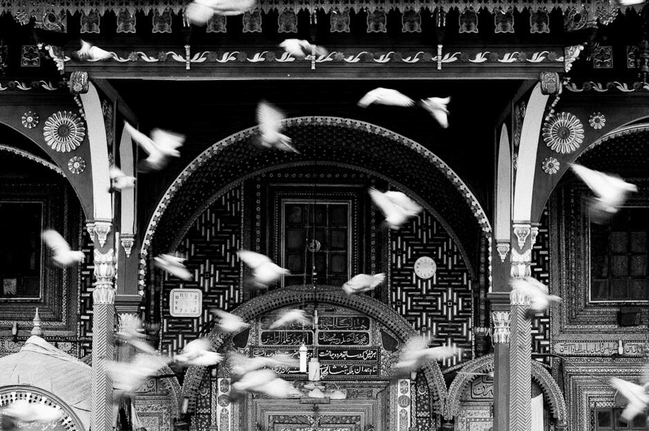 Old mosque made of Paper-Mâché in Srinagar/Kashmir.